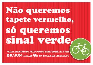 Reprodução: www.mountainbikebh.com.br/manifesto