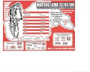 Maratona em Mateus Leme